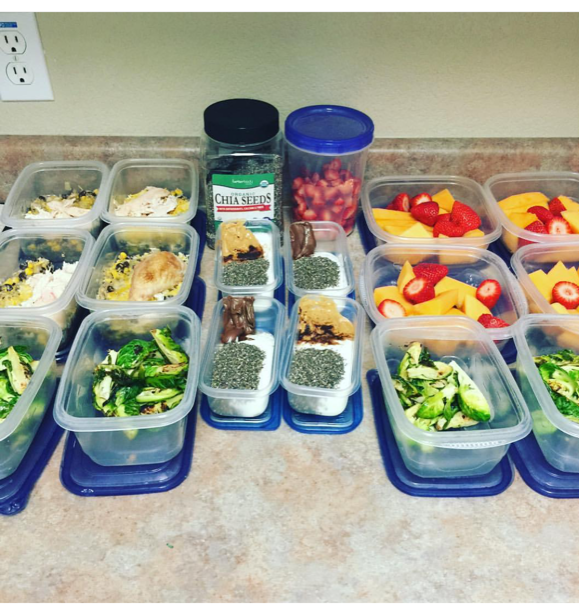 My first try at meal prepping