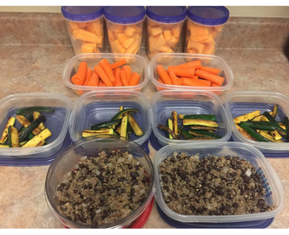 My second attempt at meal prepping