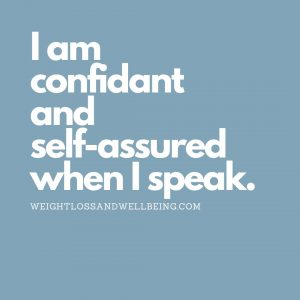 affirmations for self confidence