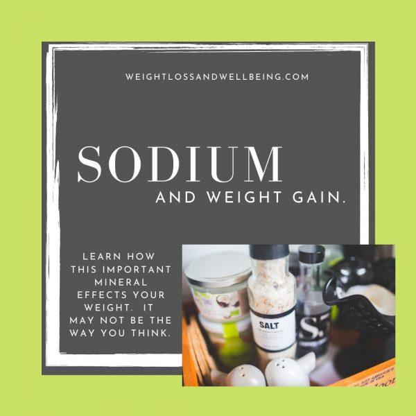 sodium and weight gain