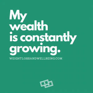 affirmations for wealth