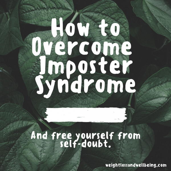 deal with imposter syndrome