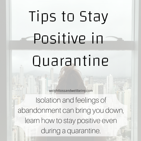 Stay Positive in Quarantine
