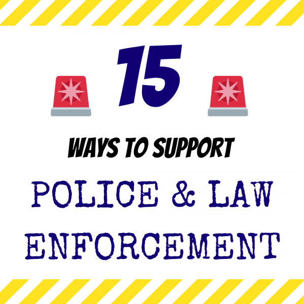 How Can I Support the Police?