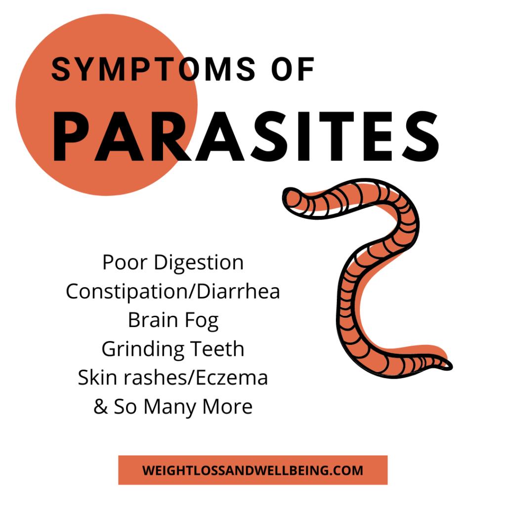 symptoms of parasites